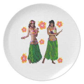 hula kaiko plate