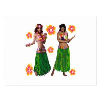 hula kaiko postcard