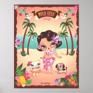 Hula Lulu Poster