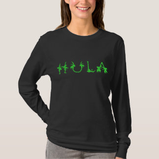 HULA  on FRONT ONLY T-Shirt