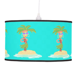 Hula Palm lamp