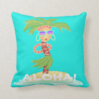 Hula Palm pillow