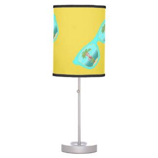 Hula Palm Sunglasses table lamp
