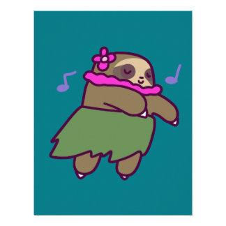 Hula Sloth Letterhead