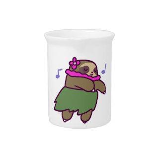 Hula Sloth Pitcher