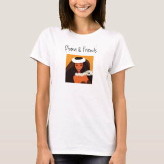 hulagirl-t, Ohana & Friends T-Shirt
