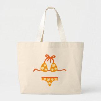 HulaGirls3 Jumbo Tote Bag