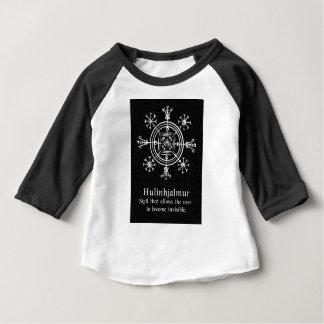 Hulinhjalmur Icelandic magical sign Baby T-Shirt