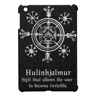 Hulinhjalmur Icelandic magical sign Cover For The iPad Mini