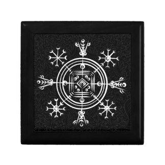 Hulinhjalmur Icelandic magical sign Gift Box
