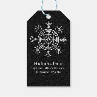 Hulinhjalmur Icelandic magical sign Gift Tags