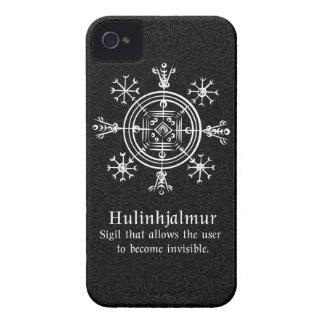 Hulinhjalmur Icelandic magical sign iPhone 4 Case