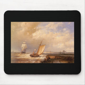 Hulk Abraham Snr A Dutch Pink Heading Out To Sea W Mouse Pad