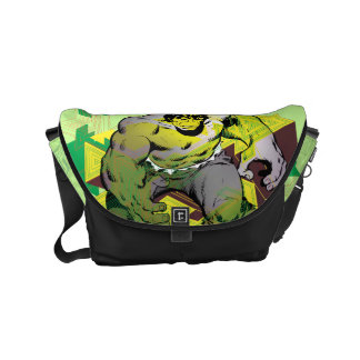 Hulk Abstract Graphic Commuter Bags