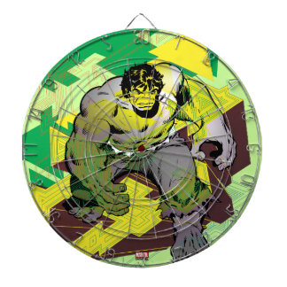 Hulk Abstract Graphic Dartboard