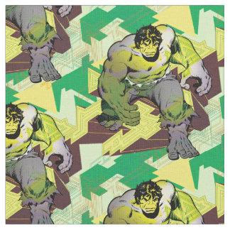 Hulk Abstract Graphic Fabric