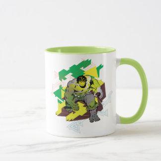 Hulk Abstract Graphic Mug