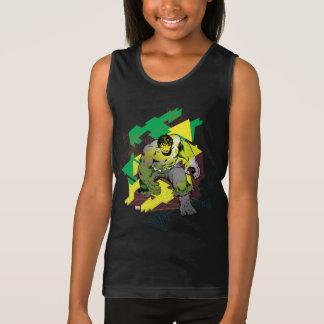 Hulk Abstract Graphic Tank Top