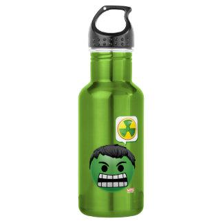 Hulk Emoji 532 Ml Water Bottle