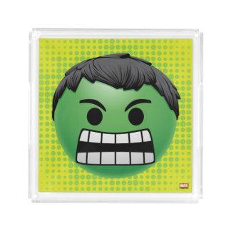 Hulk Emoji Acrylic Tray