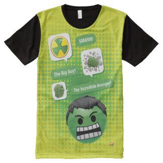 Hulk Emoji All-Over-Print T-Shirt