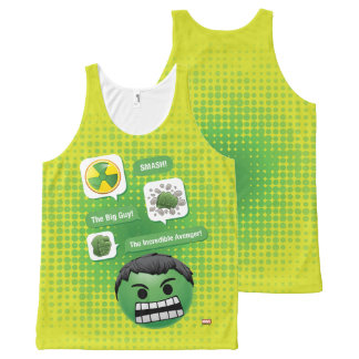 Hulk Emoji All-Over-Print Tank Top