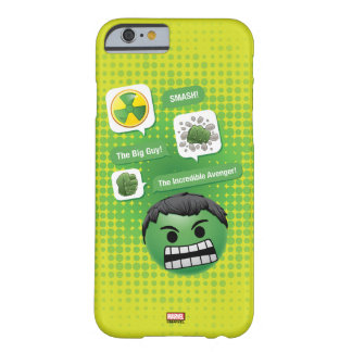 Hulk Emoji Barely There iPhone 6 Case