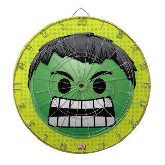 Hulk Emoji Dartboard