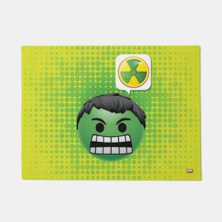 Hulk Emoji Doormat
