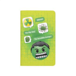 Hulk Emoji Journal