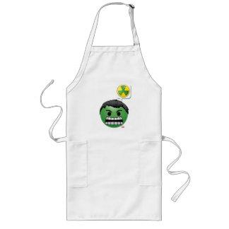 Hulk Emoji Long Apron