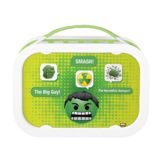 Hulk Emoji Lunch Box