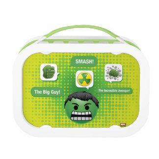 Hulk Emoji Lunchboxes