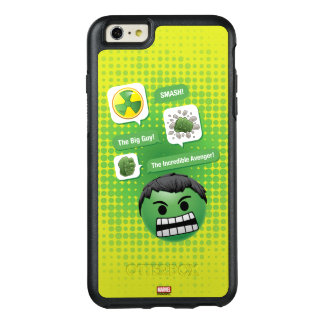 Hulk Emoji OtterBox iPhone 6/6s Plus Case