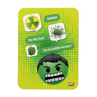 Hulk Emoji Rectangular Photo Magnet