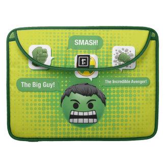 Hulk Emoji Sleeve For MacBook Pro