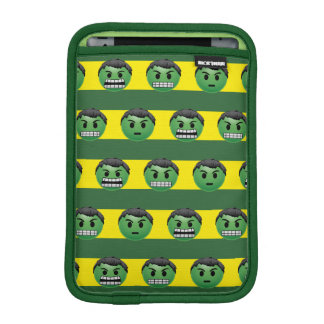 Hulk Emoji Stripe Pattern iPad Mini Sleeve