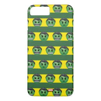 Hulk Emoji Stripe Pattern iPhone 8 Plus/7 Plus Case