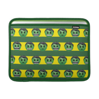 Hulk Emoji Stripe Pattern MacBook Air Sleeve