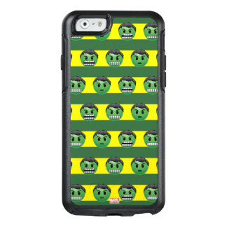 Hulk Emoji Stripe Pattern OtterBox iPhone 6/6s Case