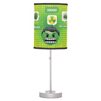 Hulk Emoji Table Lamp