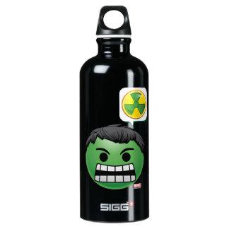 Hulk Emoji Water Bottle