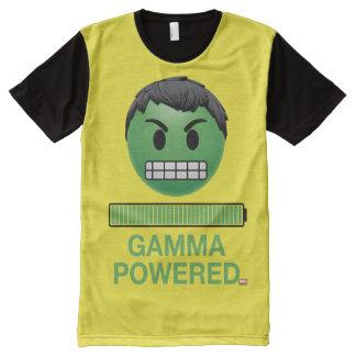Hulk Gamma Powered Emoji All-Over-Print T-Shirt