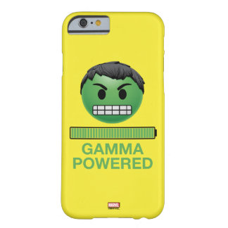 Hulk Gamma Powered Emoji Barely There iPhone 6 Case