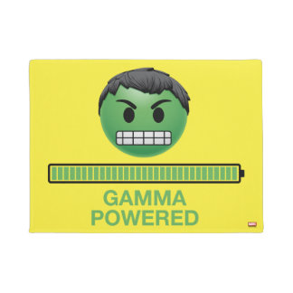 Hulk Gamma Powered Emoji Doormat