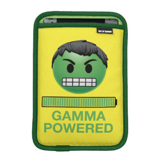 Hulk Gamma Powered Emoji iPad Mini Sleeve