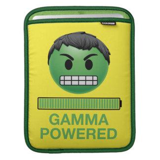 Hulk Gamma Powered Emoji iPad Sleeve