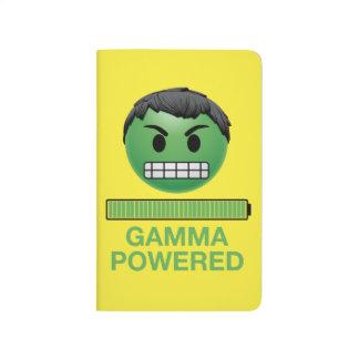 Hulk Gamma Powered Emoji Journal