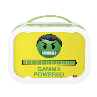 Hulk Gamma Powered Emoji Lunch Box