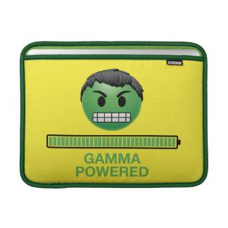 Hulk Gamma Powered Emoji MacBook Sleeve